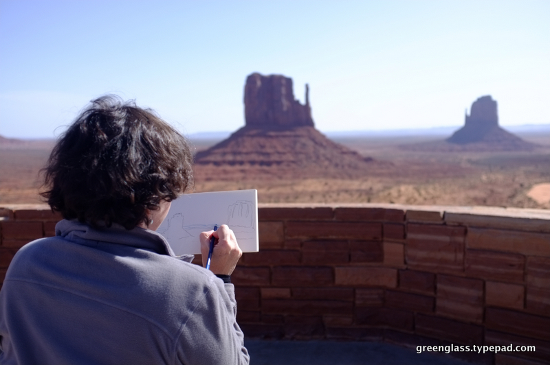 1-liz sketch 2 monument  valley